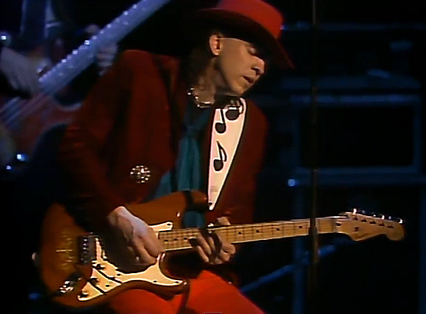 Stevie Ray e sua guitarra Lenny