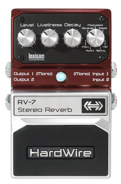 HardWire RV-7 StereoReverb